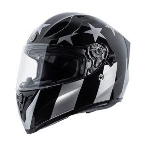 TORC T-15 Full Face Helmet - Captain Shadow Gloss