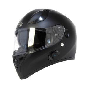 TORC T-15 Full Face Helmet W/blinc Bluetooth - Flat Black