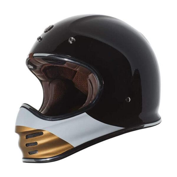 TORC T-3 Retro Mx Full Face Helmet - Coyote