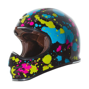 TORC T-3 Retro Mx Full Face Helmet - Pollack