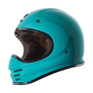 TORC T-3 Retro Mx Full Face Helmet - Tiffany Blue