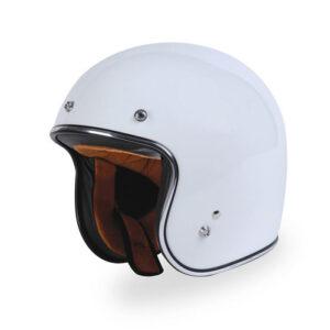 TORC 3/4 Open Face Helmet - T-50 Gloss White