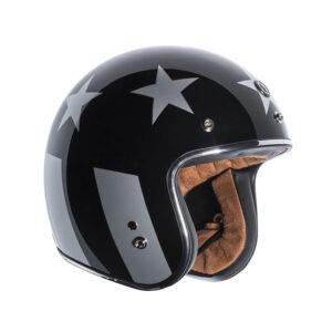 """TORC Dot 3/4 Helmet """"Captain"""" - Black"""
