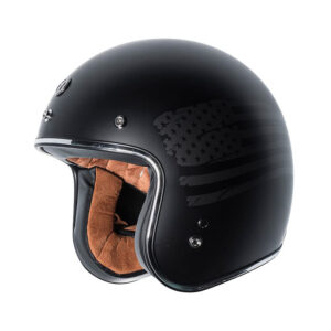 TORC Dot 3/4 Helmet - Black Flag