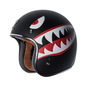 TORC Dot 3/4 Helmet - Flying Tiger