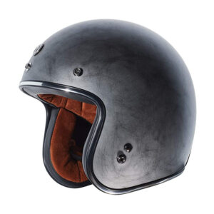 TORC T50 Dot 3/4 Helmet - Weathered Silver