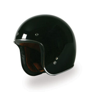 TORC 3/4 Open Face Helmet - T-50 Metallic Black