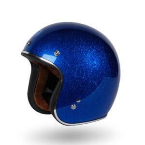 TORC 3/4 Open Face Helmet - T-50 Super Flake Blue Berry