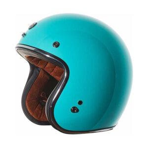 TORC T-50 Moto Helmet - Tiffany Blue