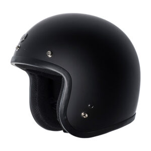 TORC T50 Classic Open Face Helmet - Flat Black