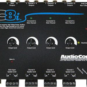AudioControl LC8i - Black