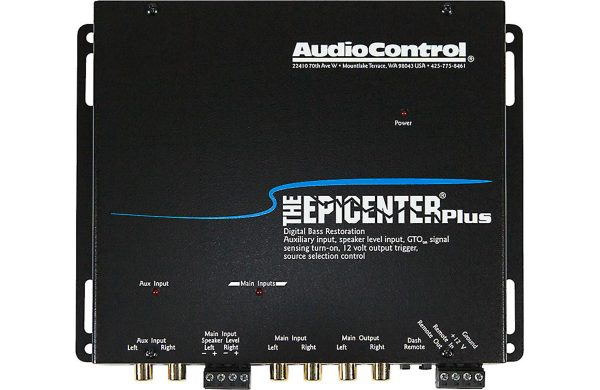 AudioControl The Epicenter Plus - Black